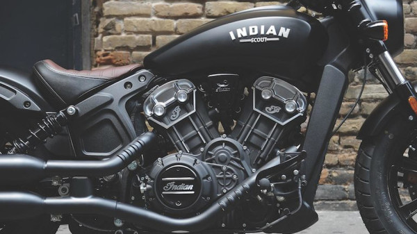 Indian Scout Bobber Motor