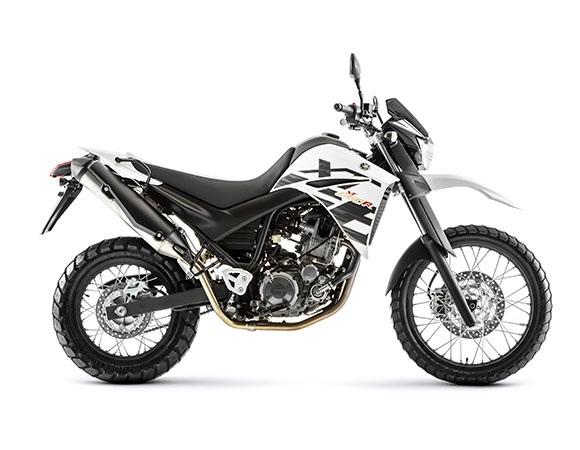 Yamaha XT 660R 2018 Branca Lateral