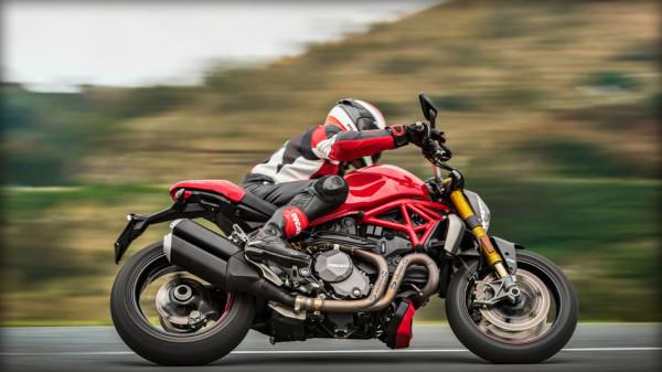 Nova Ducati Monster no Brasil Vermelha Pista