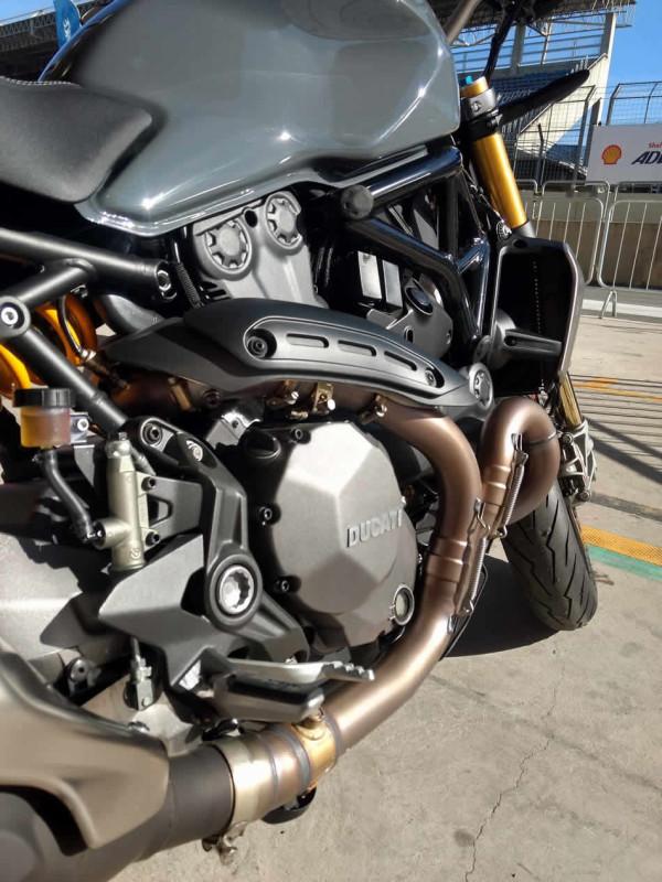 Nova Ducati Monster no Brasil Motor