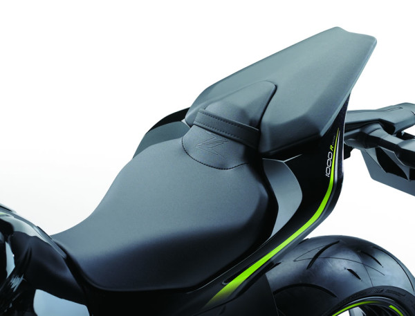 Kawasaki Z1000 R Edition 2018 Detalhe Assento