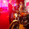 Royal Enfield Interceptor INT 650 chama atenção de Príncipe William