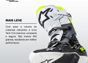 Alpinestars lança nova Tech 10, bota para Off-Road
