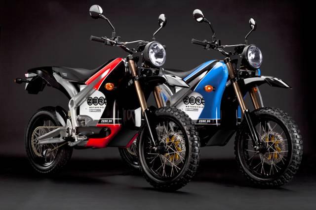 Promoção de motos elétricas Zero S e DS antes do lançamento da versão 2012   Motorede
