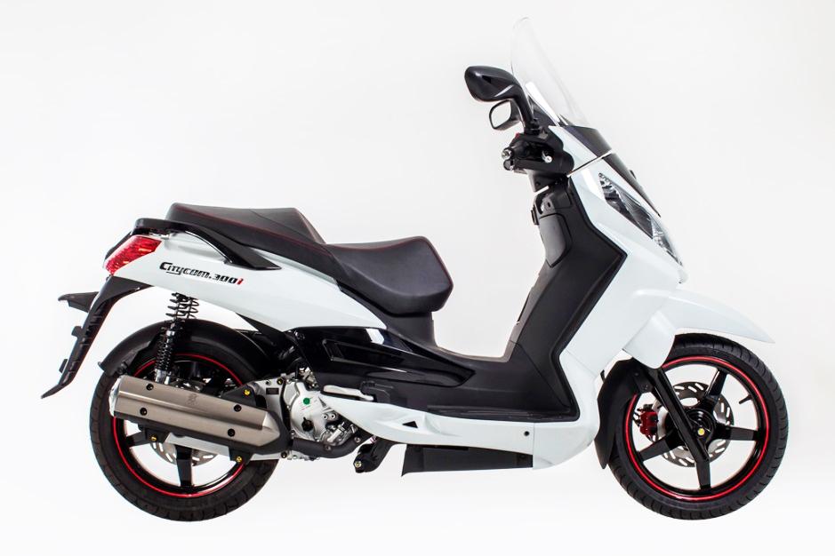 Novo Maxiscooter Dafra Citycom 300i 2013/2014 | Motorede