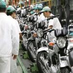 produção de motos 2013 01