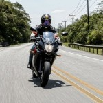 Yamaha XJ6 F 2013 nas ruas