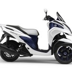 Novo Yamaha Tricity Scooter de 3 rodas