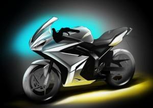 Triumph apresenta moto misteriosa de 250cc