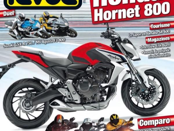 Nova Honda Hornet 800 2014