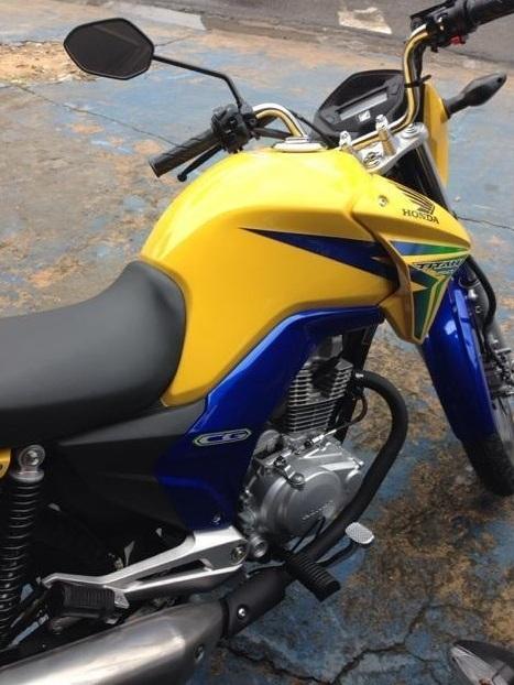 Honda CG 150 Titan EX BR Cores do Brasil