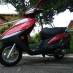 Linha 2014 de scooters DAFRA 01 Smart 125