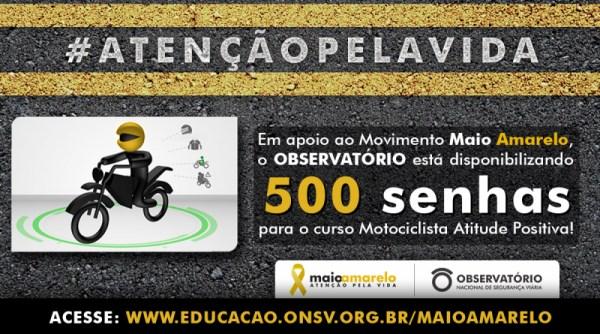 Movimento Maio Amarelo - Curso Gratis Motociclismo