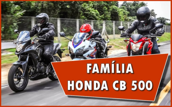 Video 02 - Familia honda CB 500