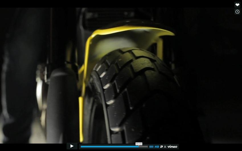 Nova Ducati Scramble 2015 no Brasil