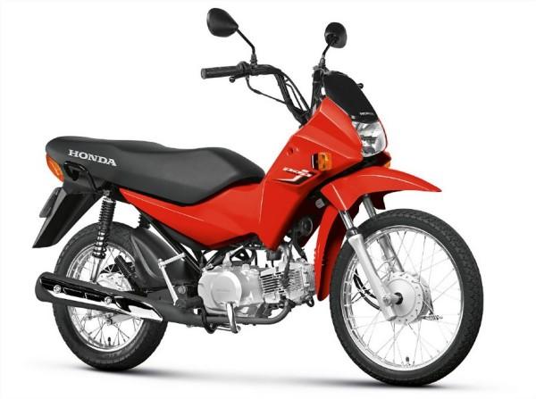 Honda lança POP 100 e BIZ 125 na versão 2015 cores foscas