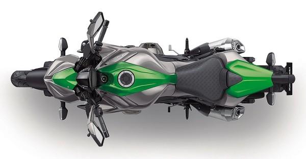 Nova Kawasaki Z1000 2015 Brasil