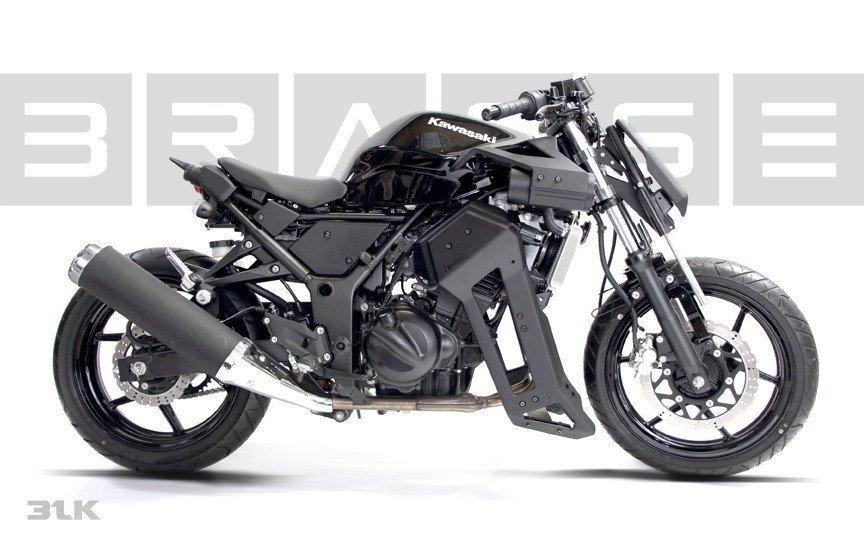 Kawasaki Ninja 250 Customizada Streetfighter 05 Motorede