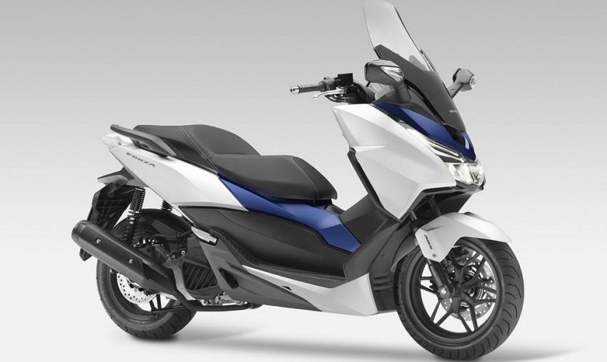 Novo scooter Honda Forza 125