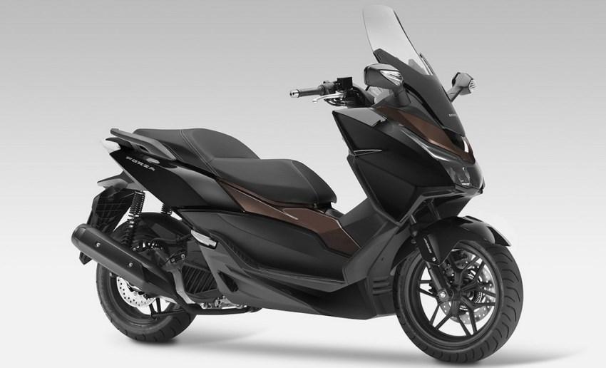 novo scooter honda forza 125 08 motorede. Black Bedroom Furniture Sets. Home Design Ideas