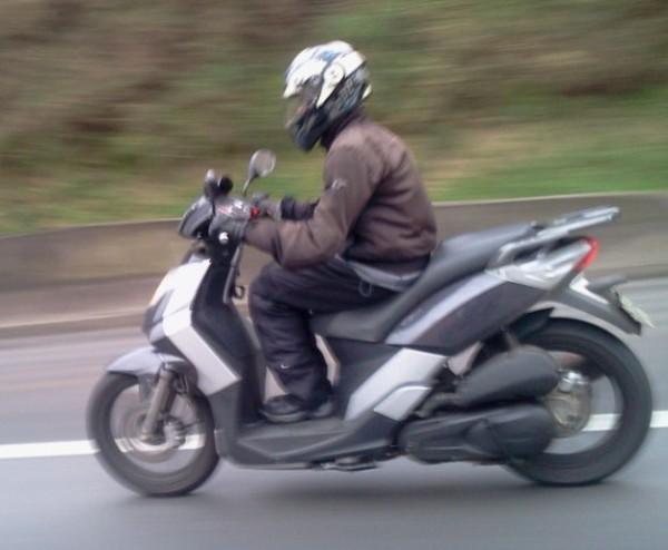 Scooter DAFRA Cityclass 200i e flagrado