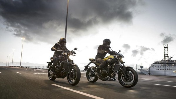 Yamaha MT-07 Extreme Yellow 2015