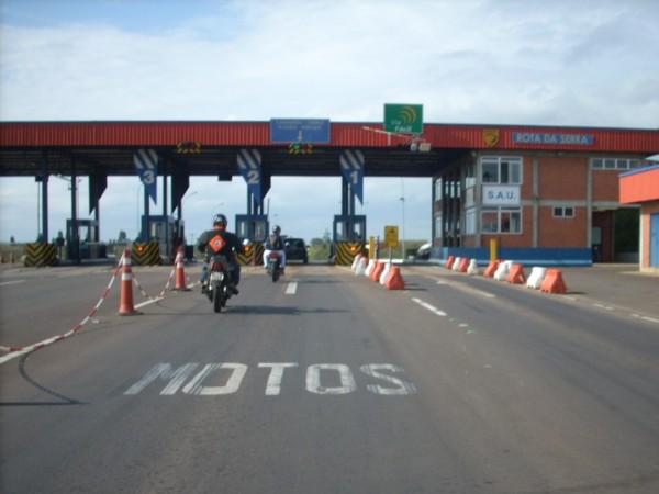 Aprovado isenção de pagamento do pedágio para motos