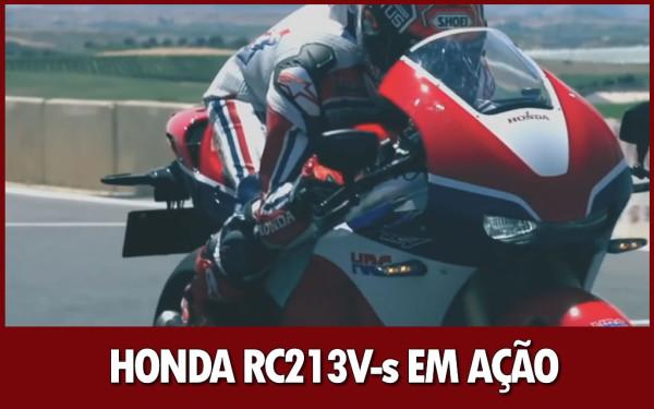 Nova Honda RC213V-s Especificações Técnicas