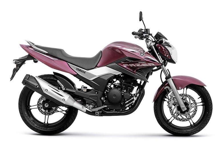 Moto Fazer 250 2016 Vermelha Motorede