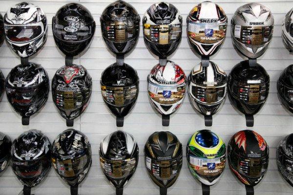 Atencao para a hora certa de trocar seu capacete