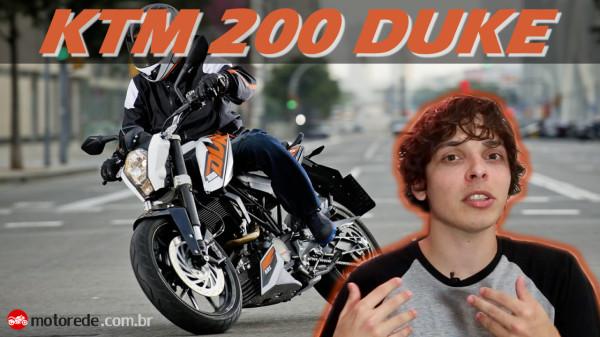 Vídeo Comparação KTM 200 Duke Brasil