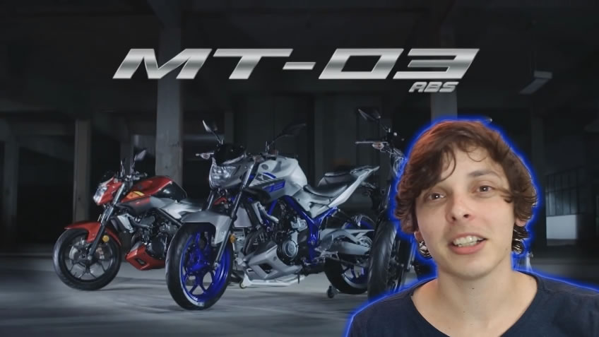 Vídeo Oficial da nova Yamaha MT-03 - Motorede