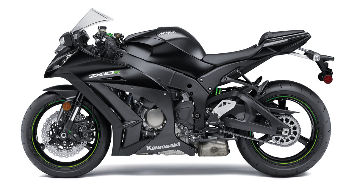 Kawasaki Ninja Zx10r 2016 Preta Motorede