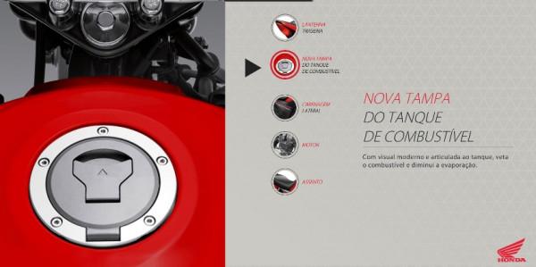 Nova Honda CG 125i Fan 2016