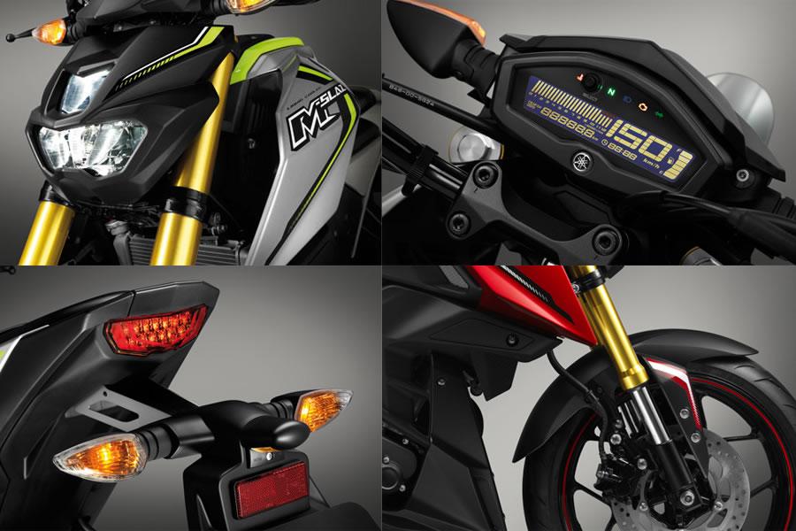 Nova Yamaha M-Slaz 150 cairia bem no Brasil