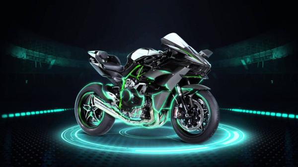 Kawasaki Ninja H2R chega custando R$350.000 – A mais cara do mercado!