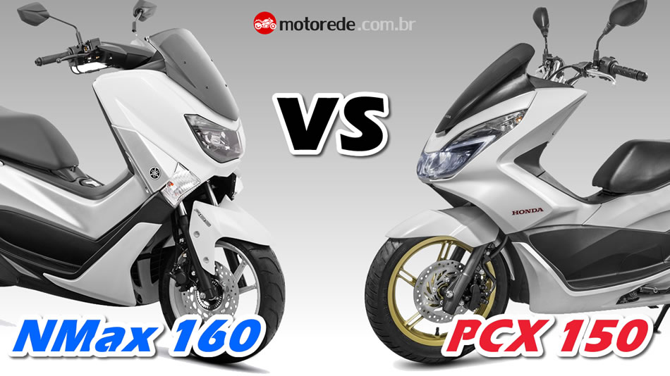 Comparação NMax 160 vs PCX 150 2016