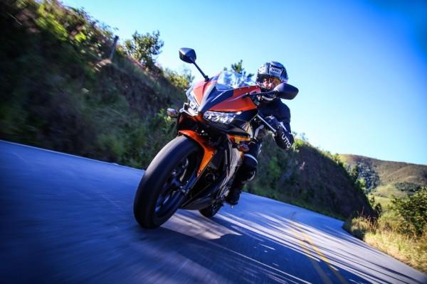 Nova Honda CBR 500R 2016