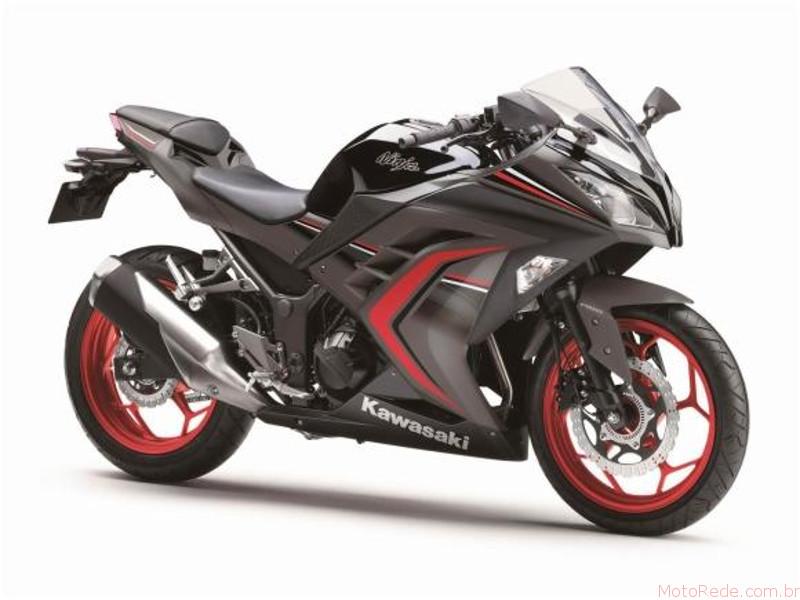 Nova Kawasaki Ninja 300 2017 chega ao Brasil