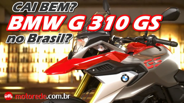 Vídeo nova BMW G 310 GS