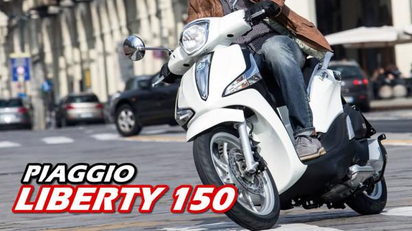 Novo Piaggio Liberty 150 video
