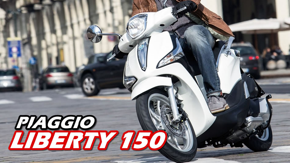 Novo Piaggio Liberty 150 video