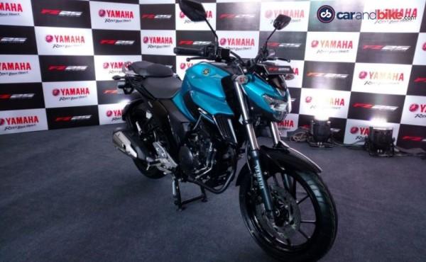 nova Yamaha Fazer 250