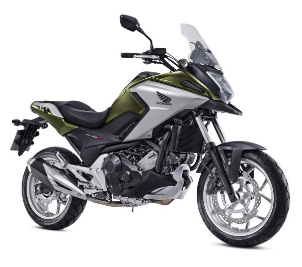 Honda NC 750 X 2018 Verde Perolizado