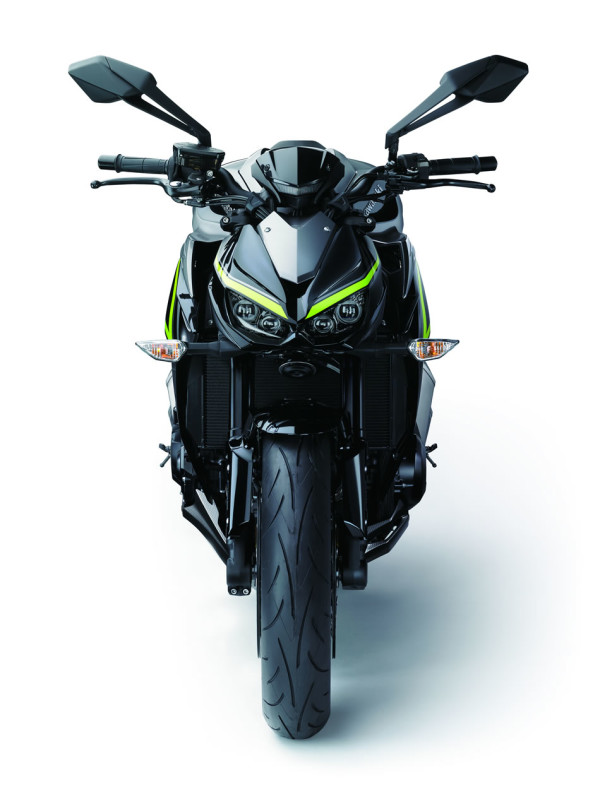 Kawasaki Z1000 R Edition 2018 Visão Frontal