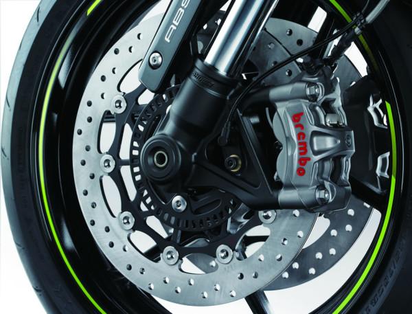 Kawasaki Z1000 R Edition 2018 Freio Brembo