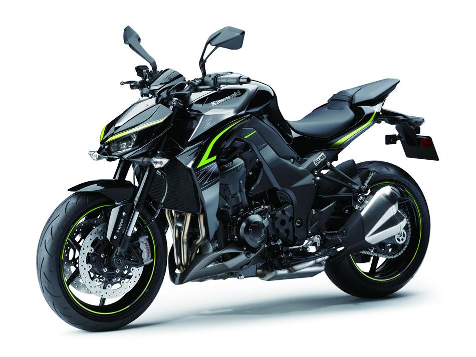 Kawasaki Z1000 R Edition 2018 Visão Lateral