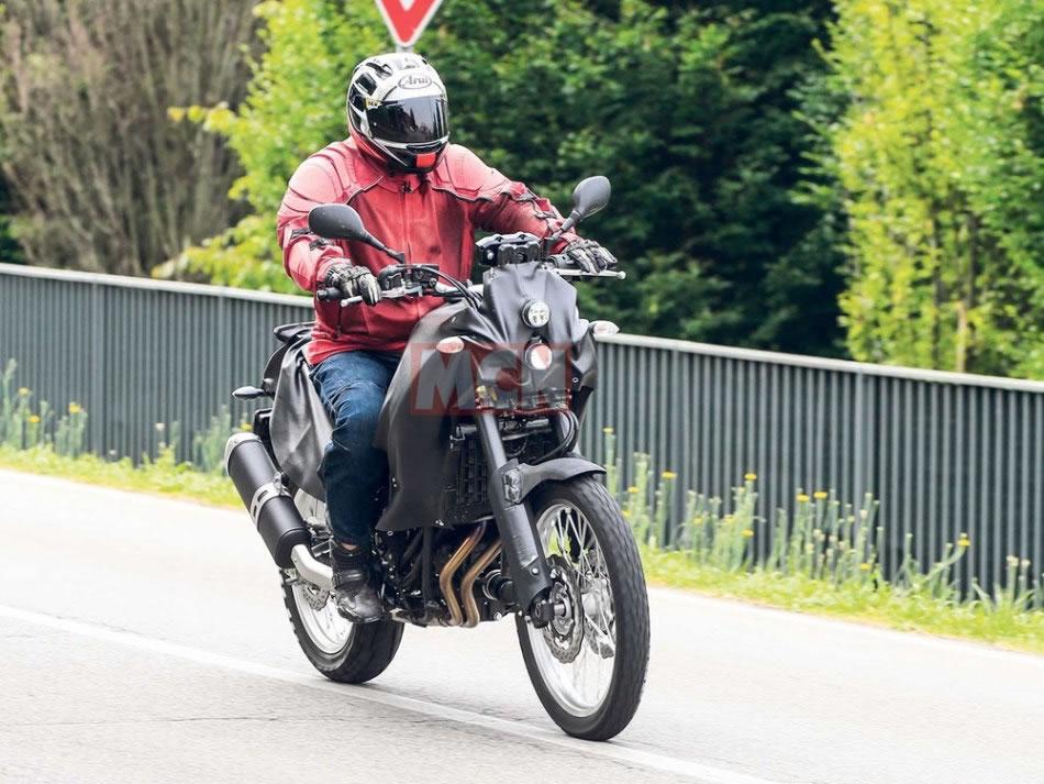 Yamaha Ténéré 700 Flagrafa nas ruas | Motorede
