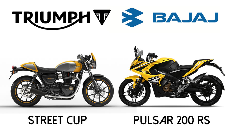 Triumph-Bajaj Parceria