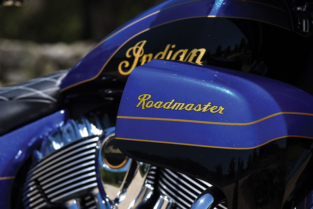 Indian Roadmaster Elite Gold 23k
